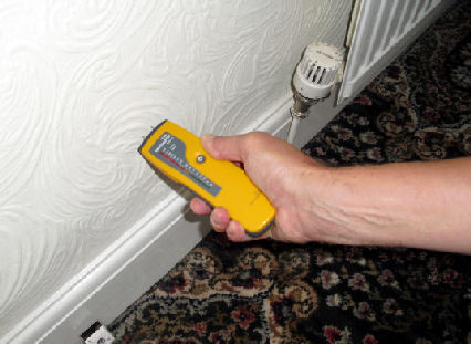 How to diagnose damp problems